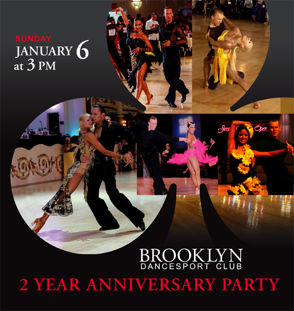 Brooklyn Dancesport club anniversary