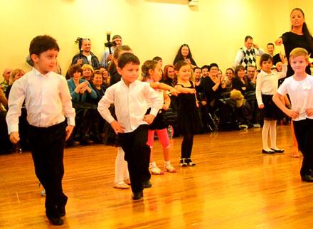 Beginner Dance Class Performance