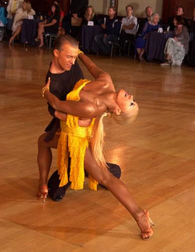 Dmitriy Nikishkin and Olena Shvets