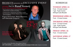 Ruud Vermeij Seminar Schedule