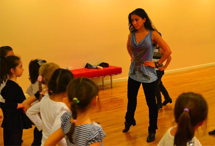 Anastasia Danilova's beginner class