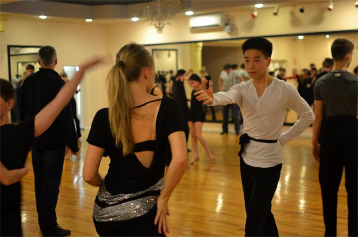 Christian Yeung and Samanta Filip